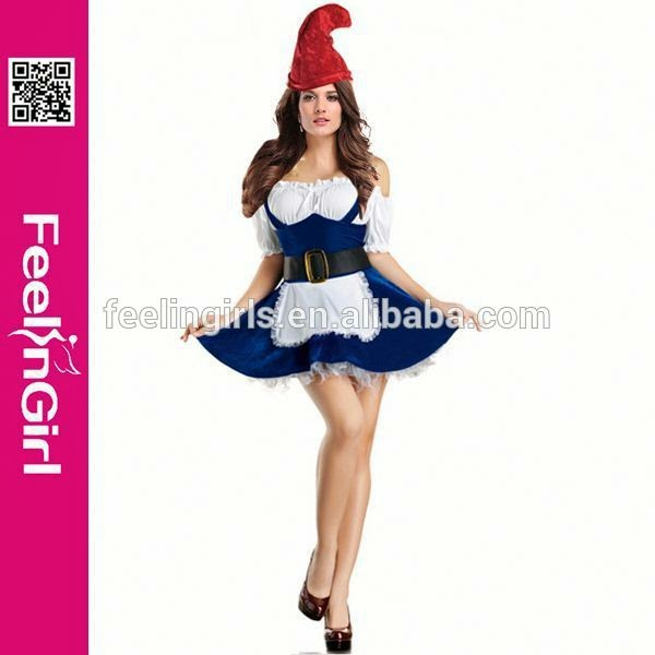 Newly Halloween Fashion Lady christmas ornament costume