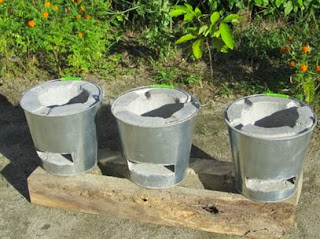 stoves made from metal buckets