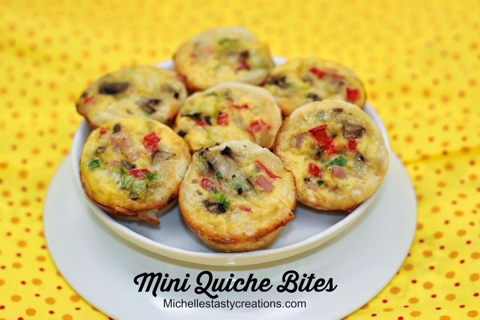 Michelle's Tasty Creations: Mini Quiche Bites