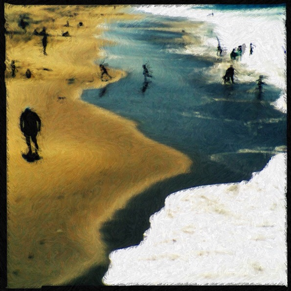 A Day at the Beach © Susan Rennie