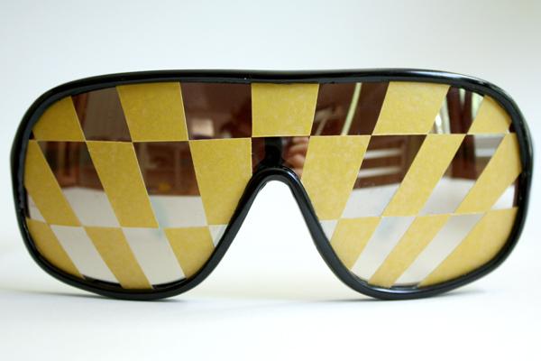 DREW DRAWS: Macho Man Sunglasses