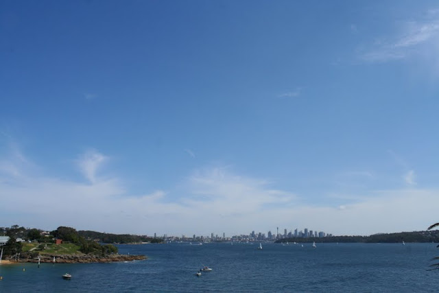 View of Sydney from Camp Cove