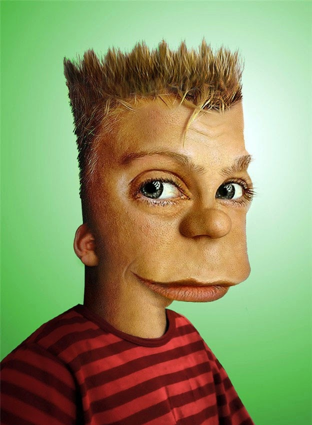 Disturbing Realistic Pictures Of Your Childhood Cartoons - Favourite childhood cartoons look real life