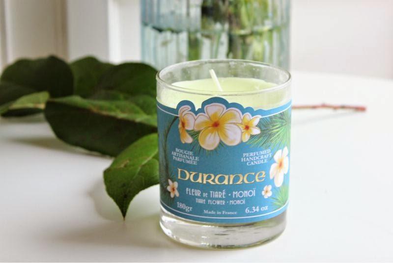 Durance en Provence Tiare Flower Candle