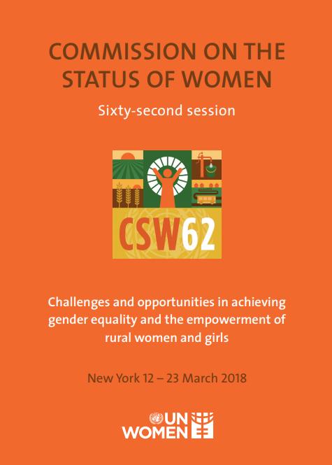 ONU | Está a decorrer a 62.ª Sessão da Comissão sobre o Estatuto da Mulher conhecida por CSW