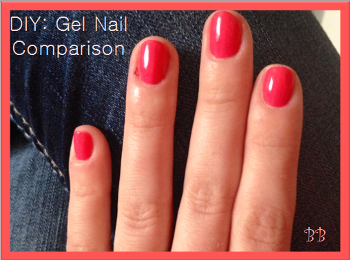 Busy blondes diy gel nail comparison i especially love a good gel manicure but ive finally decided that i am spending way too much money why not do it myself solutioingenieria Images