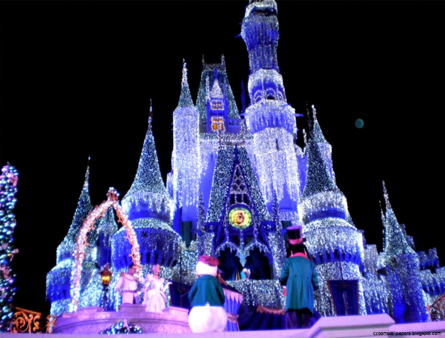 Disney World Christmas Desktop