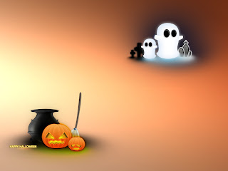 Fun Ghosts Halloween Wallpapers