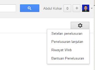 Gambar Cara menampilkan 100 hasil pencarian