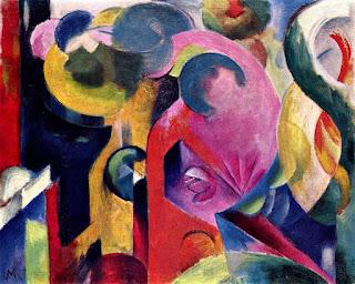 Franz Marc, Petite Composition III, 1913