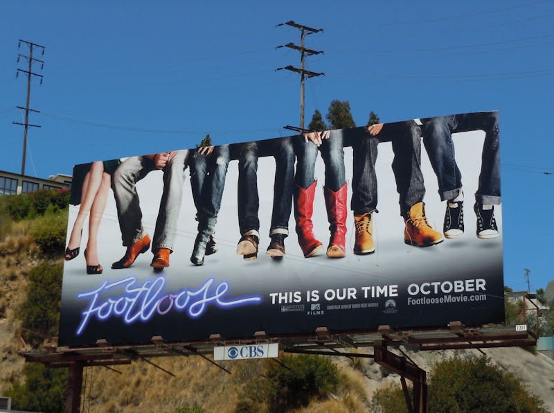 Footloose remake teaser billboard