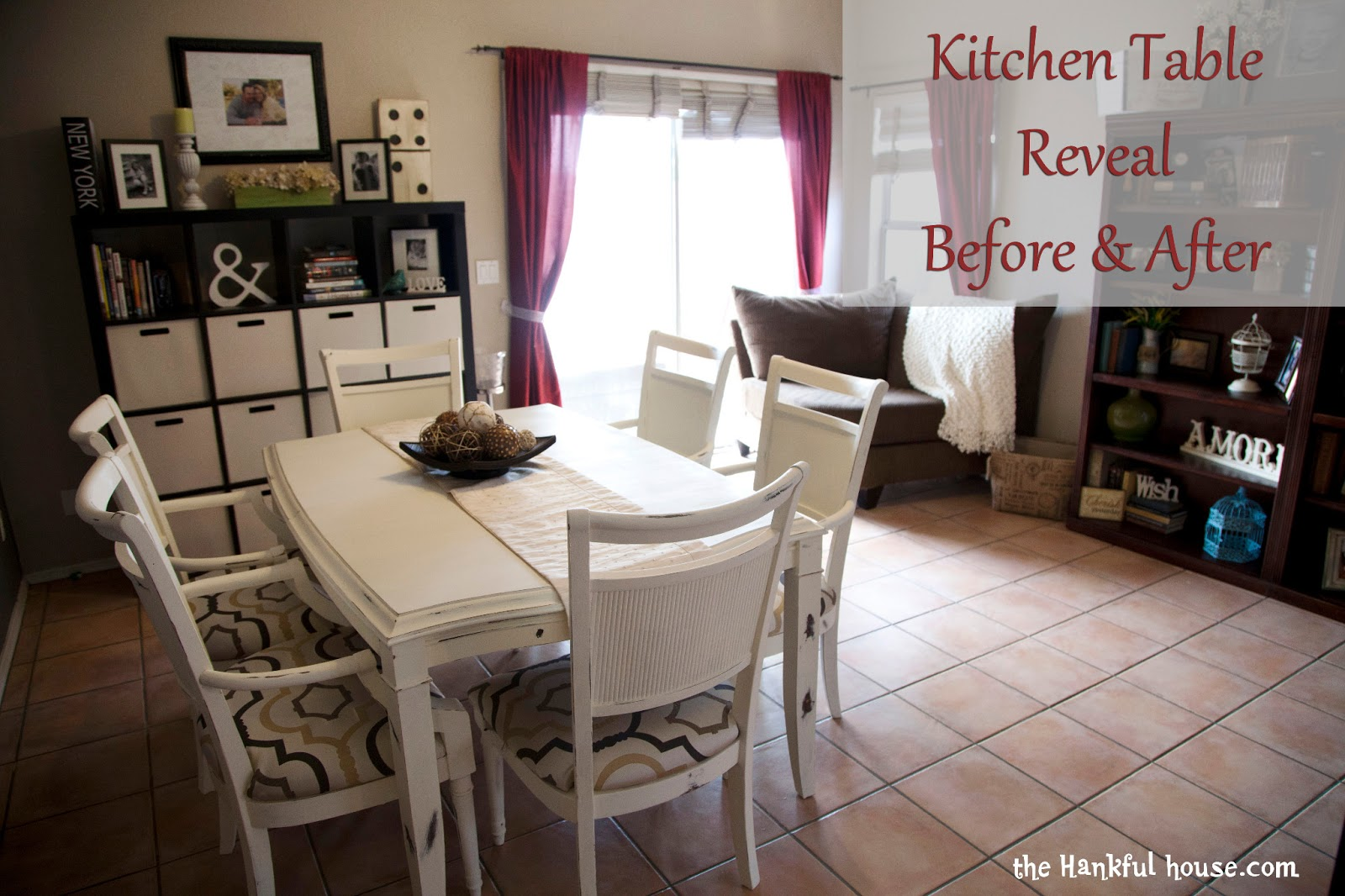kitchen table redo redo kitchen table Let me start by first saying if I ever say I want to paint my kitchen table again please lock me up in the loony bin This is one of those projects