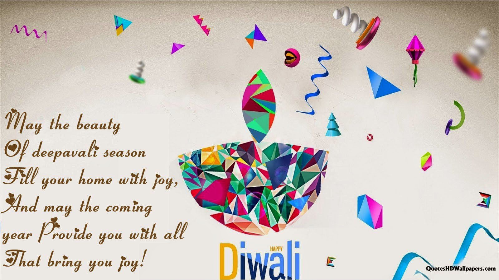 Happy Diwali Facebook & WhatsApp Quotes 2015