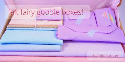 Felt Fairy Goodie Boxes
