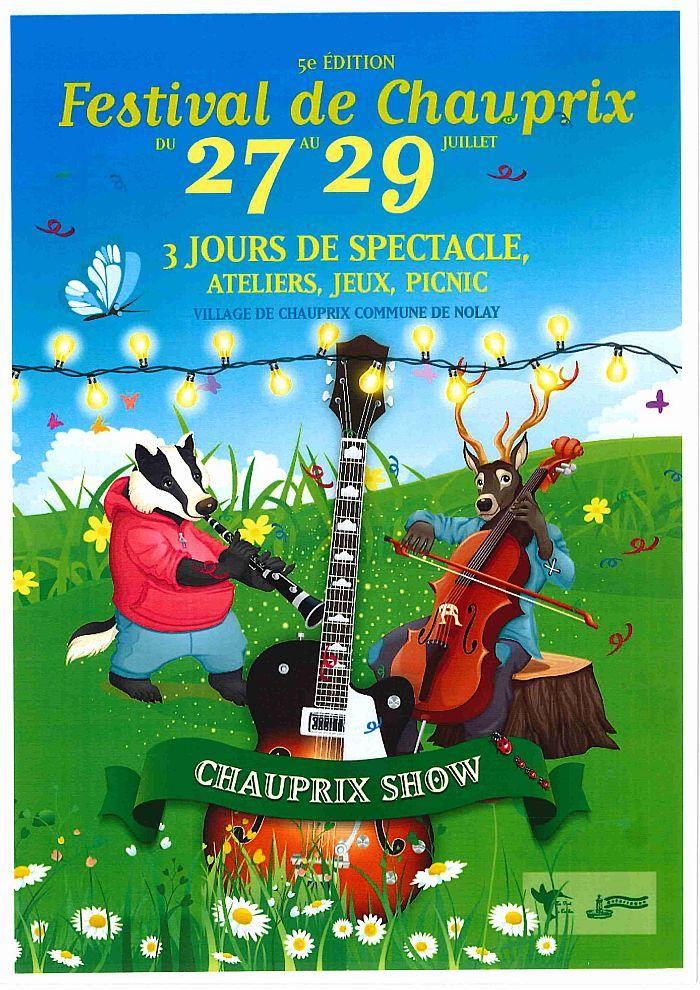 """""""Chauprix show"""" à Chauprix du 27 au 29 juillet 2018"""
