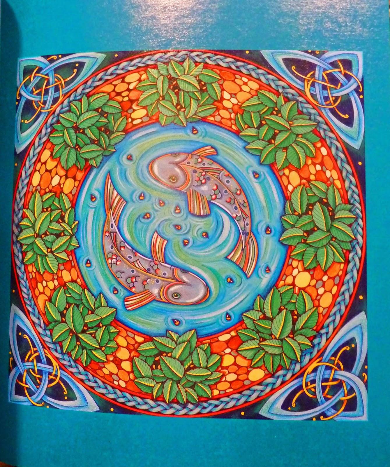salmon mandala coloring pages - photo#11