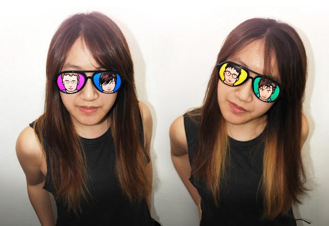 blur best of art, blur giveaway, blur shades, blur sunglasses, iamkamty, iamkamty.com, millie chiu etsy, millie chiu hong kong, pinhole glasses, pinhole sunglasses, win free blur, blur live hong kong