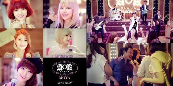 AOA Black, MV, Teaser, MOYA