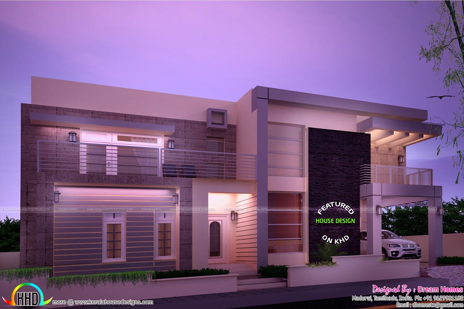 dream contemporary home design kerala home design and