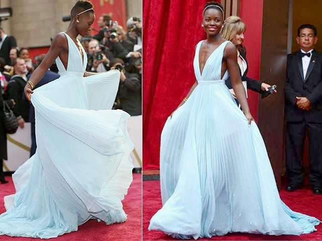 Vestido lindo da festa do Oscar/2014