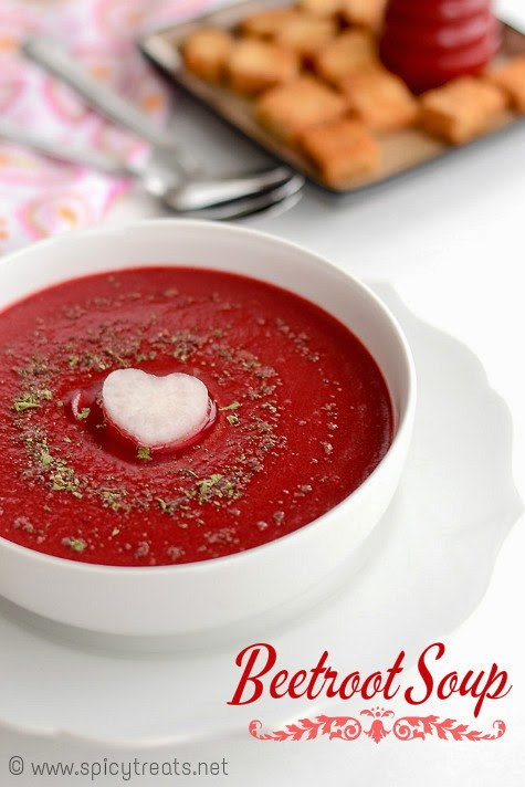 Vegan Beets Soup