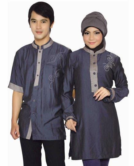 Model Baju Muslim Couple