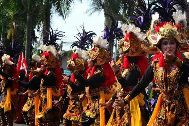 traditional dance in Borobudur