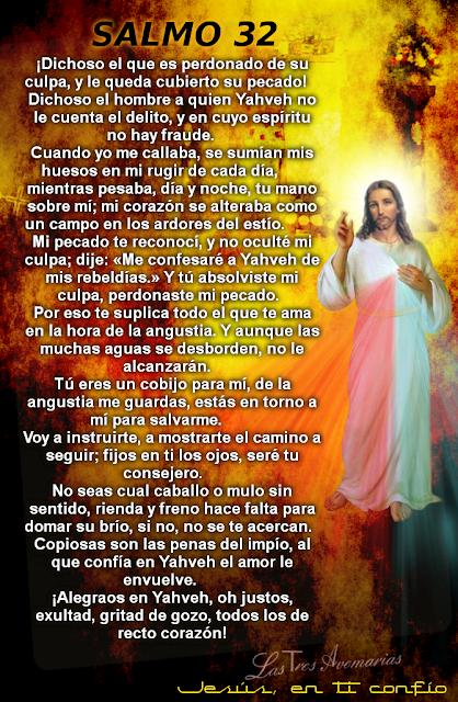 oraciones de la biblia salmo 32