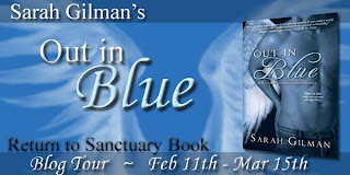 Blog Tour: Out in Blue by Sarah Gilman