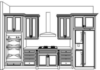 Kitchen Cabinet Design Drawing shelf design drawing: graphics drawing drawings vector image