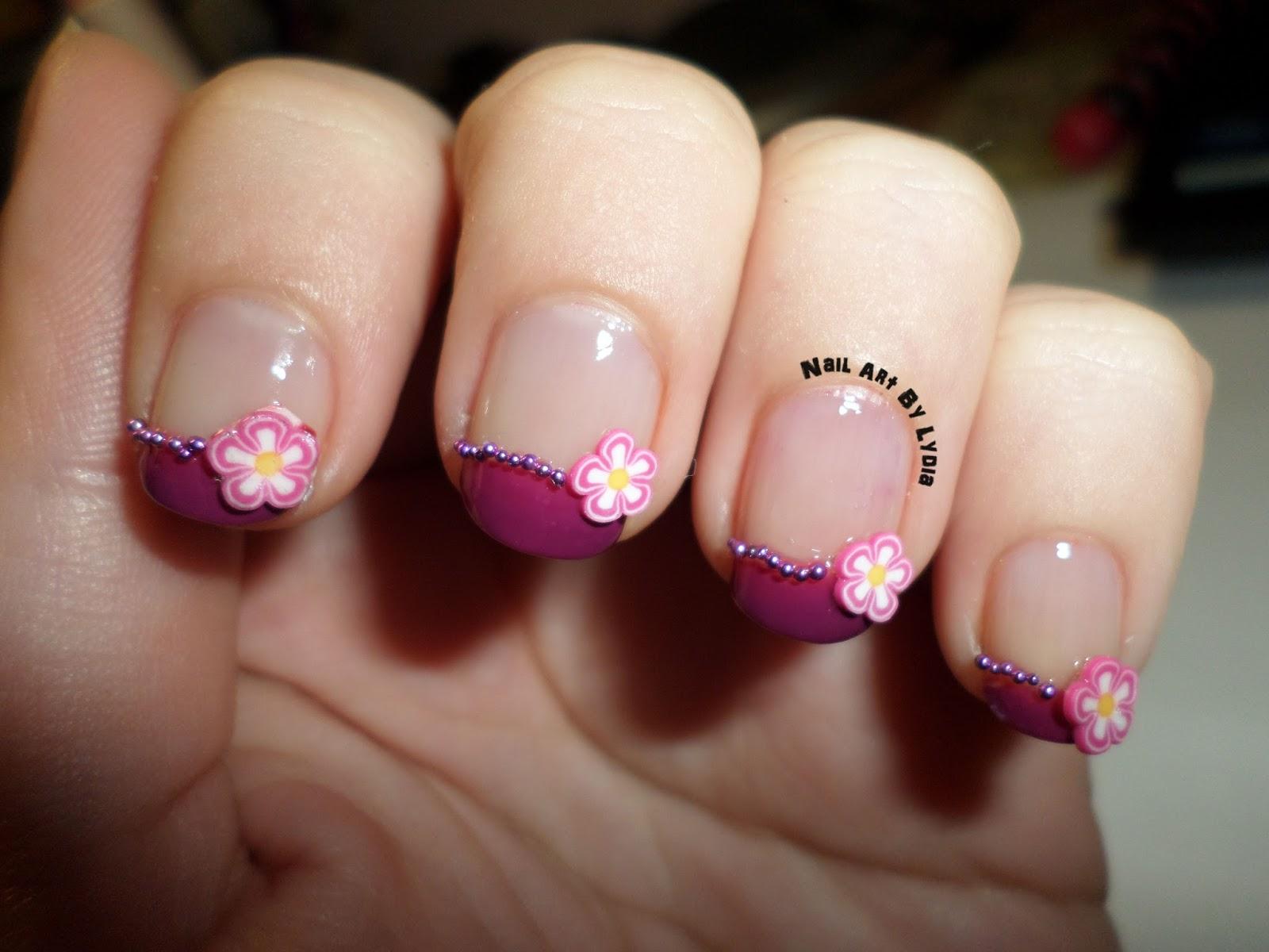 Nail art by lydia reto colores y t cnicas manicura - Manicura francesa colores ...