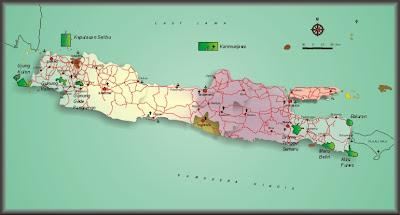 Taman Nasional di pulau Jawa