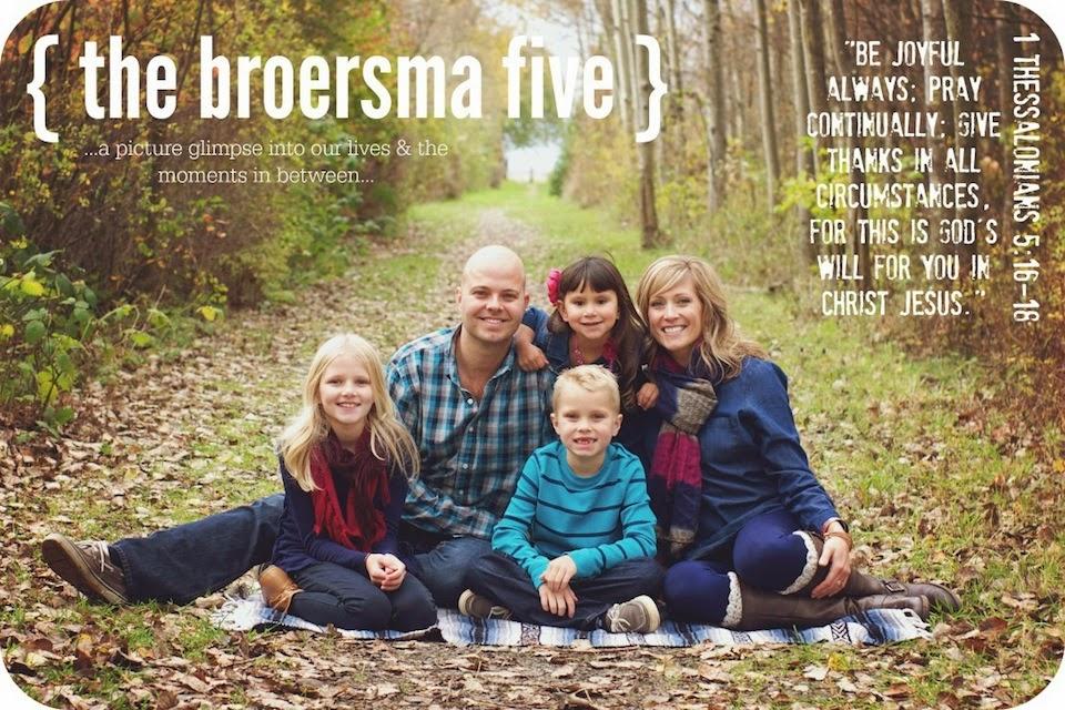 the broersma five