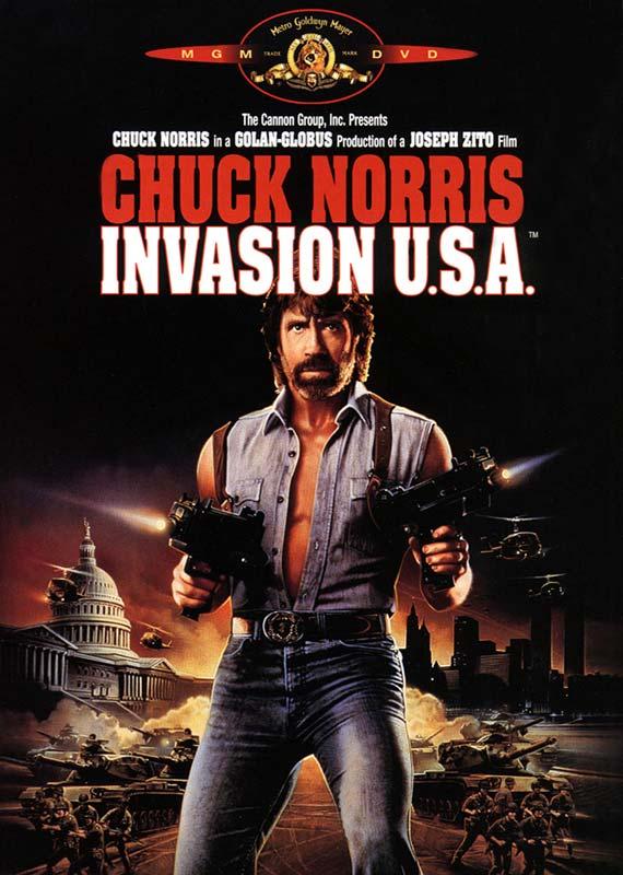Capa - Invasão USA