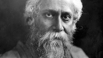 Retrato de Rabindranath Tagore