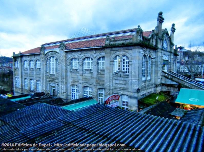 1929 Arquitecto Conde Fidalgo, Edificio del Mercado