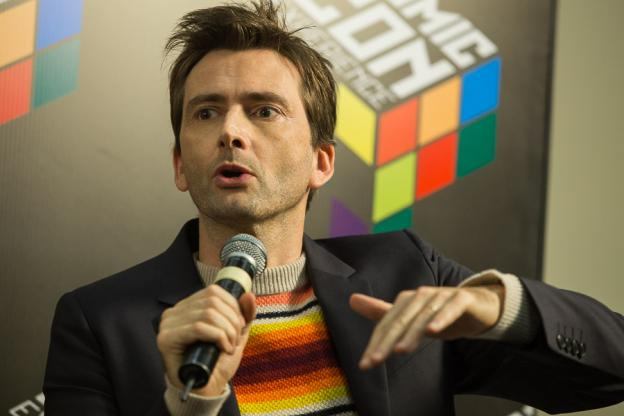 David Tennant at Comic Con Brazil