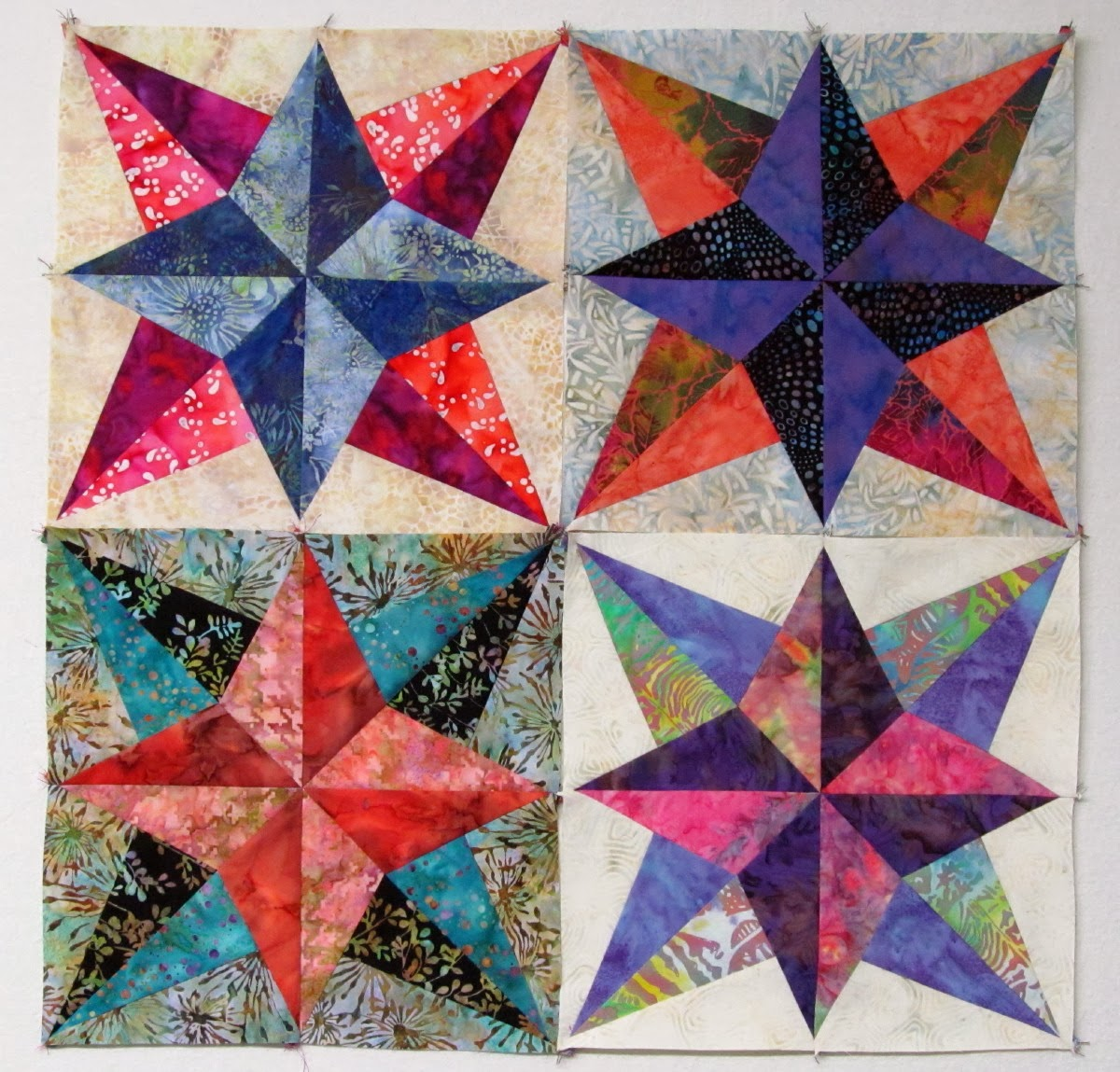 Exuberant Color : Another Blazing Star...... : blazing star quilt - Adamdwight.com