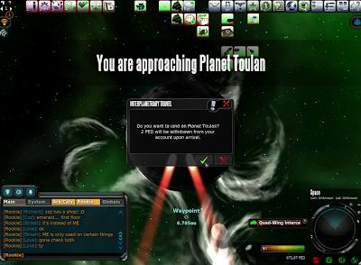 Entropia Universe - Planet Entry Fee