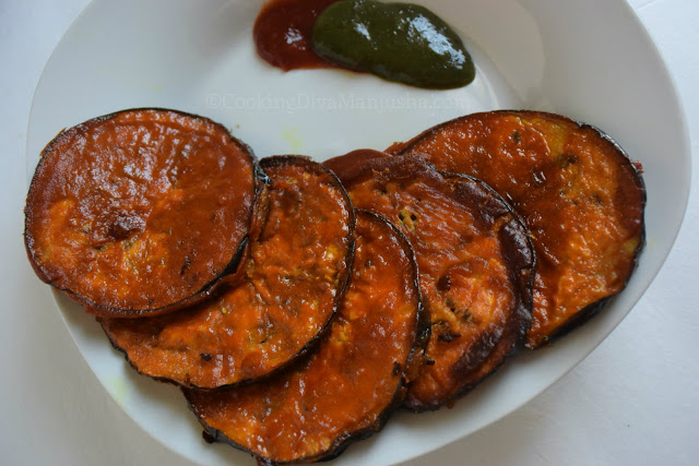eggplant-fritters