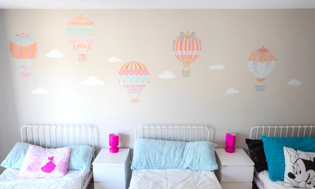 Cute Girls u Room Hot Air Balloons by Albion Gould