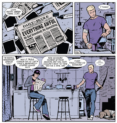 David Aja, Hawkeye #2 [Hawkeye: My Life as a Weapon]