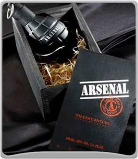 Perfume Masculino Arsenal Black Gilles 100ml