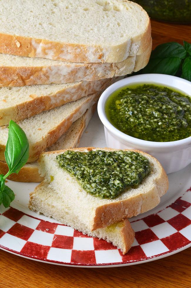 The Goldilocks Kitchen: Classic Basil Pesto