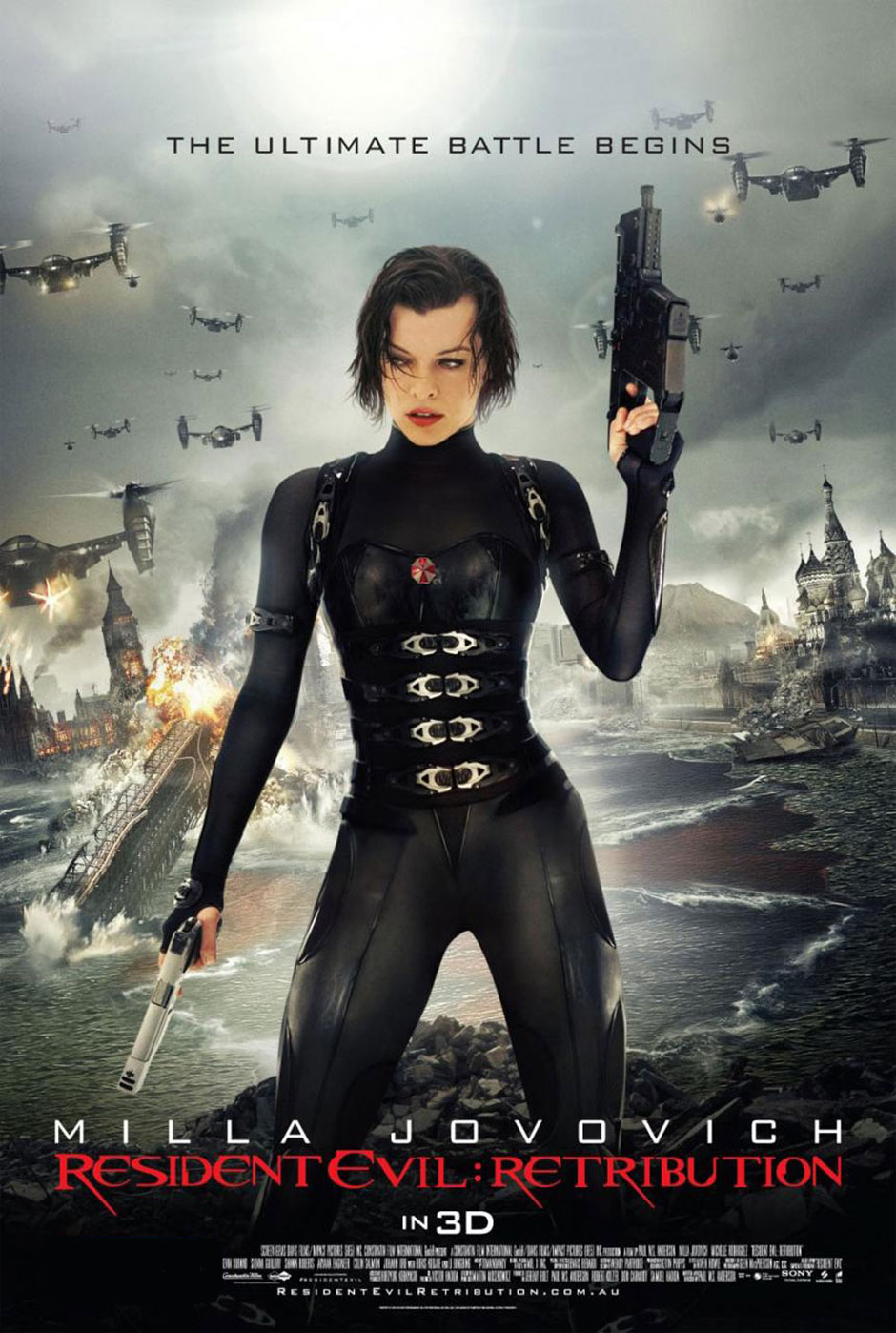 Watch Resident Evil Retribution Movie Online Free 2012