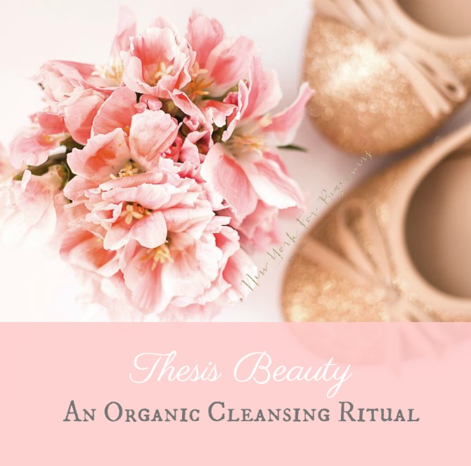 Thesis Beauty – Oily Skin Review - The Best Organic