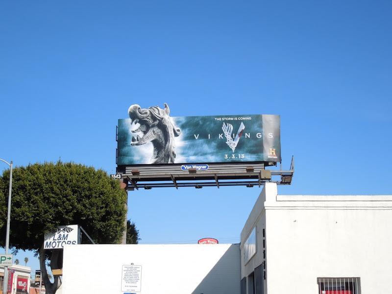 Vikings season 1 special extension billboard