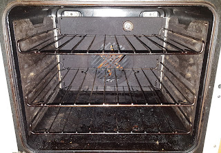 Oven cleaning test with Oven Pride review