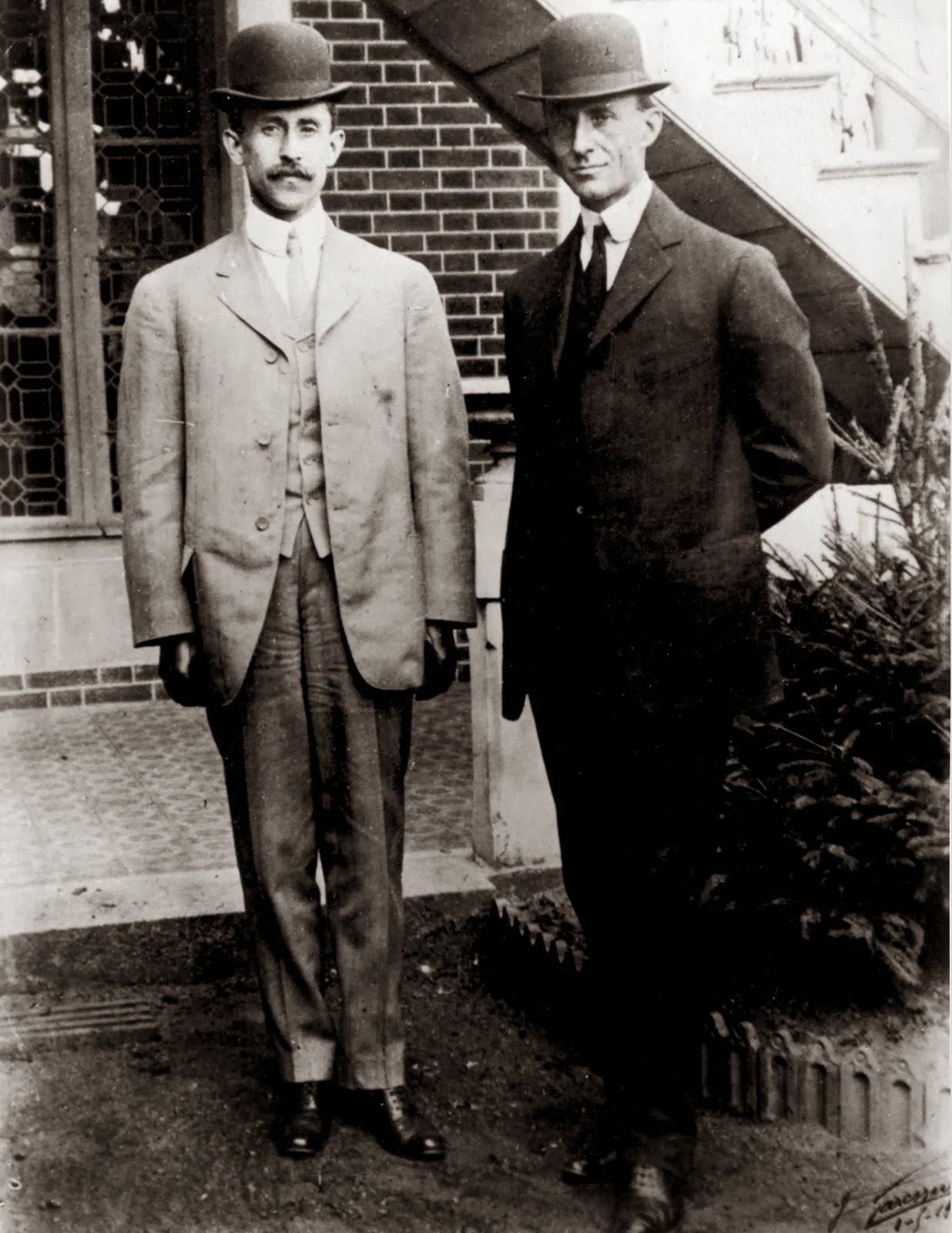 Orville y Wilbur Wright