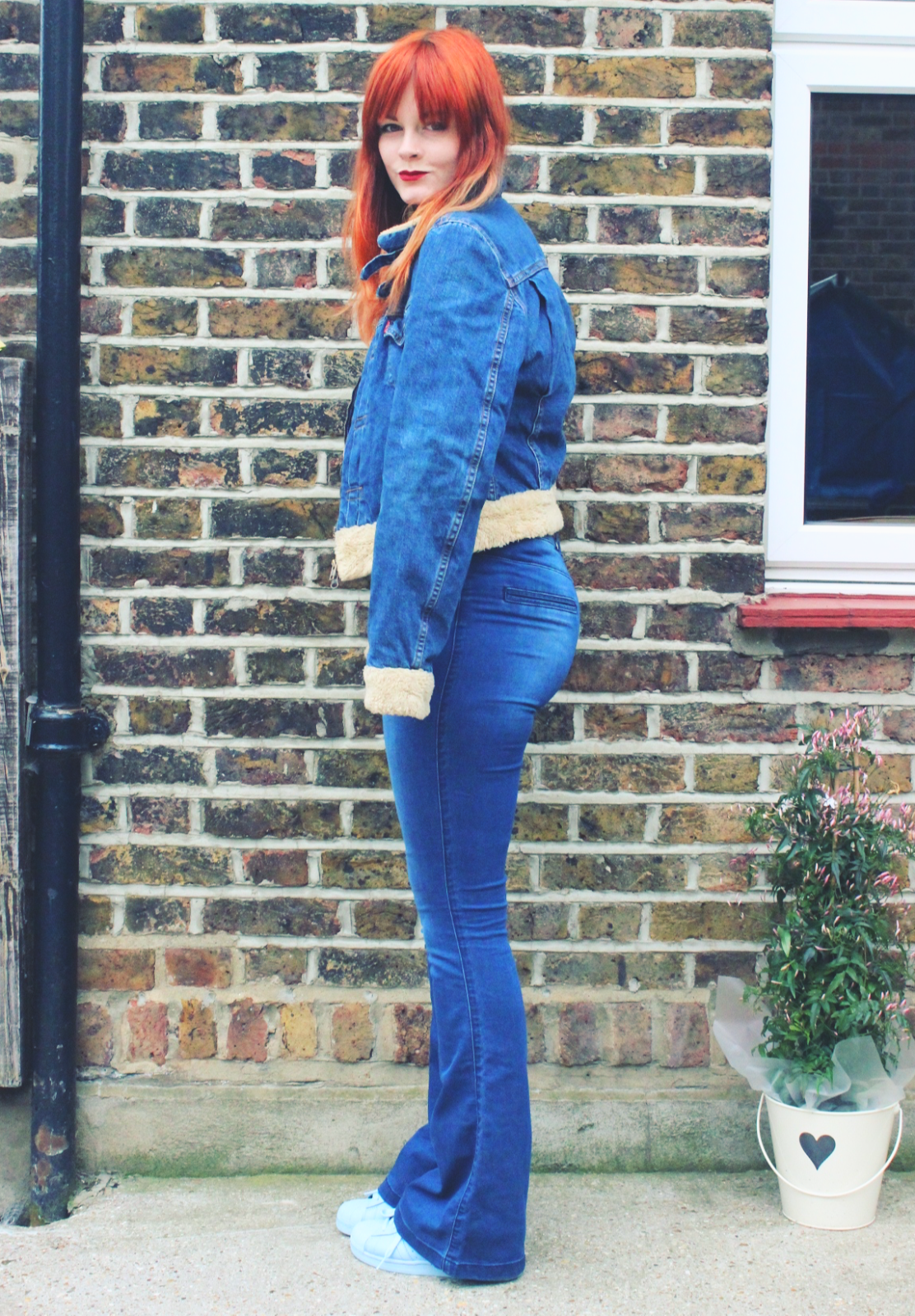 70's Double Denim